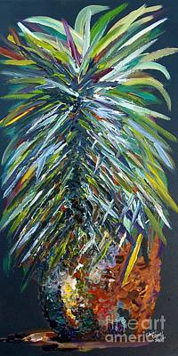Leaves Painting - Perfect Pineapple by Eloise Schneider