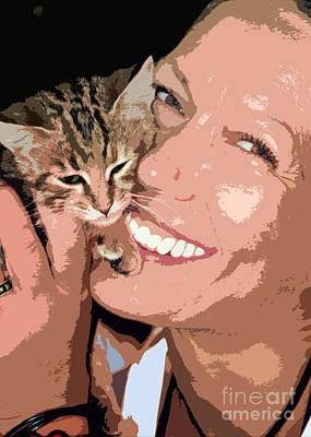 Perfect Smile Print by Stelios Kleanthous
