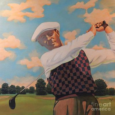 Swing Painting - Perfect Swing by Michael Hagel