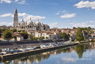 Perigueux Cathedral St Front Dordogne Aquitaine France Europe Print by Jon Boyes