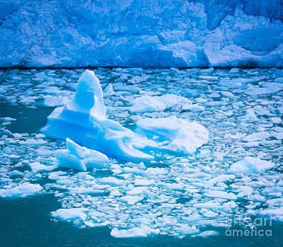 Iceberg Photograph - Perito Moreno Iceberg by Inge Johnsson