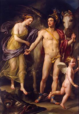 Anton Raphael Mengs Painting - Perseus And Andromeda by Anton Raphael Mengs