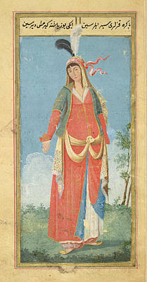 Of Woman Photograph - Persian Woman by British Library