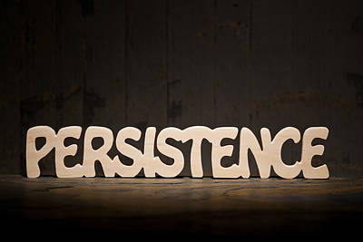 Persistence Print by Donald  Erickson