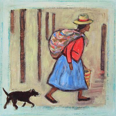 Peruvian Painting - Peru Impression I by Xueling Zou