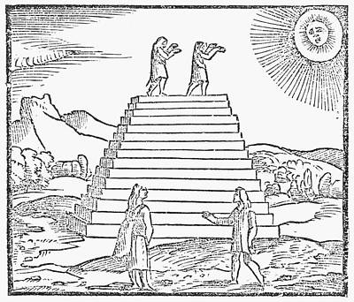 Worship God Painting - Peru Sun Worship by Granger