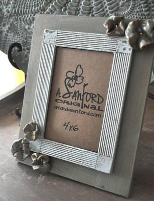 Petal To The Metal Print by Amanda  Sanford