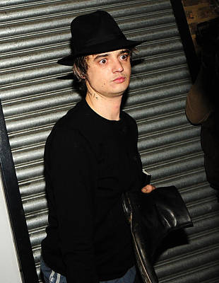 Music Photograph - Pete Doherty  by Paul Sutcliffe