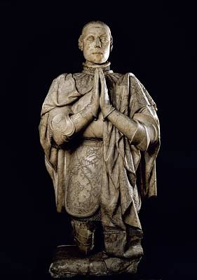 Statue Portrait Photograph - Peter I The Cruel 1334-1369. Kinf by Everett