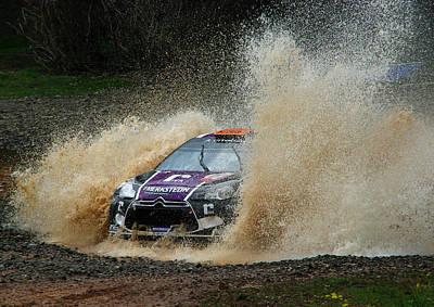 Ds3 Photograph - Peter Van Merksteijn - Rally Australia by Lyle McNamara