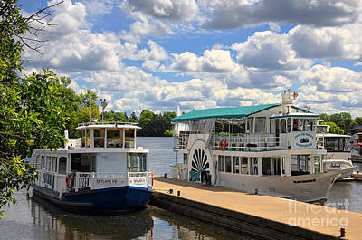 Historic Site Photograph - Peterborough Liftlock Cruise by Charline Xia