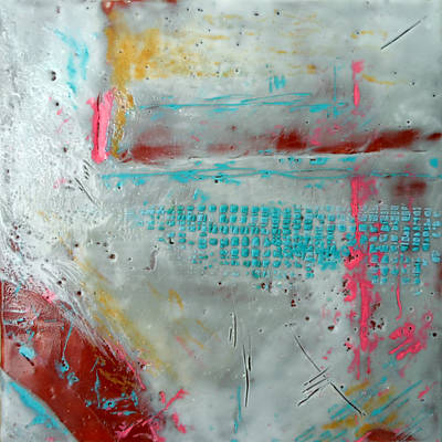 Abstract Painting - Petit Cirque 2 by Victoria Primicias