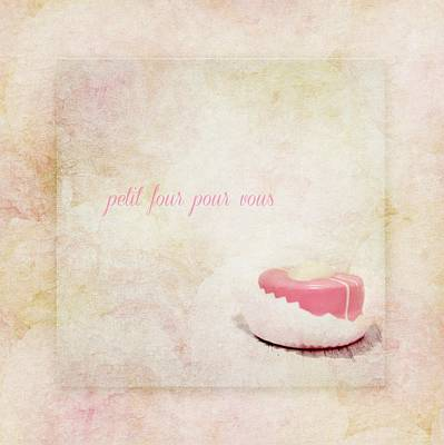 Solid Mixed Media - Petit Four by Heike Hultsch