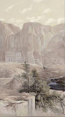 Petra Print by Guido Borelli