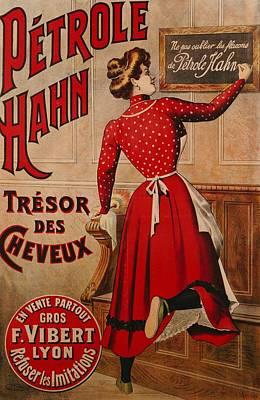 Petrole Hahn Print by Boulanger Lautrec
