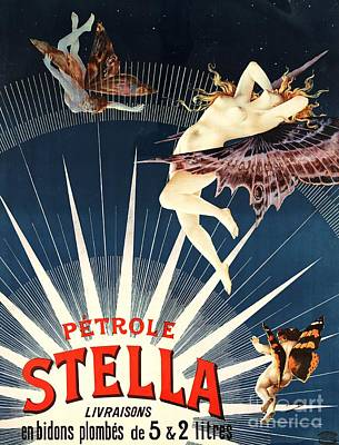 Advertisment Painting - Petrole Stella by Pg Reproductions