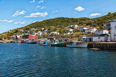 Maddox Photograph - Petty Harbour Newfoundland by Perla Copernik