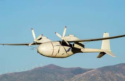 High Altitude Flying Photograph - Phantom Eye Endurance Uav by Nasa/boeing, Bob Ferguson