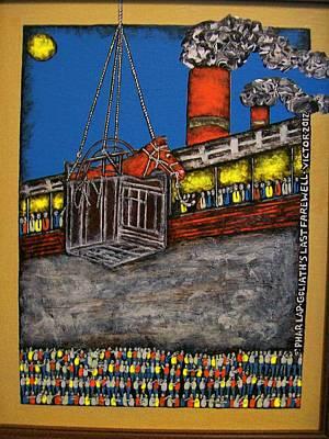 Phar Lap's Last Farewell Original by Victor Maloney