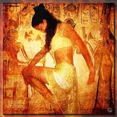 Woman Digital Art - Pharaohs Daughter by Gun Legler
