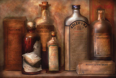 Mikesavad Photograph - Pharmacy - Indigestion Remedies by Mike Savad