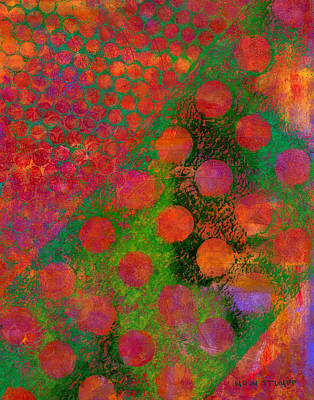 Abstract Movement Painting - Phase Series - Direction by Moon Stumpp