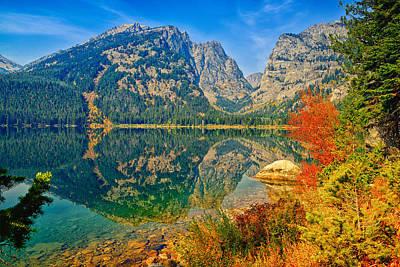 Framed Art Photograph - Phelps Lake by Greg Norrell