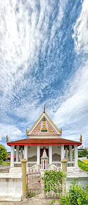 Phetchaburi Temple 06 Print by Antony McAulay