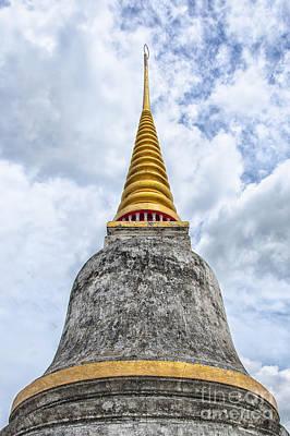 Phetchaburi Temple 10 Print by Antony McAulay