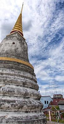 Phetchaburi Temple 13 Print by Antony McAulay
