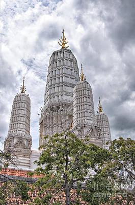 Phetchaburi Temple 17 Print by Antony McAulay