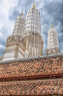 Phetchaburi Temple 18 Print by Antony McAulay