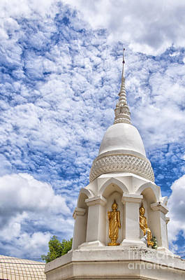Phetchaburi Temple 24 Print by Antony McAulay