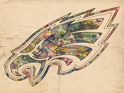 Eagle Digital Art - Philadelphia Eagles Poster Vintage by Florian Rodarte