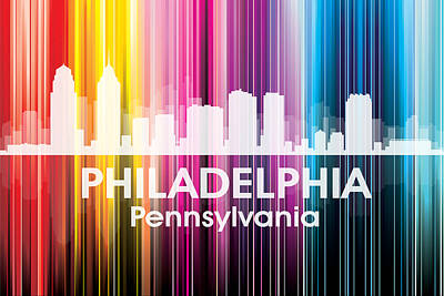 Philadelphia Pa 2 Print by Angelina Vick