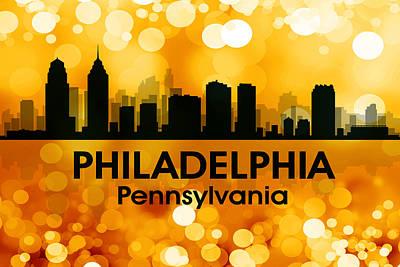 Philadelphia Pa 3 Print by Angelina Vick
