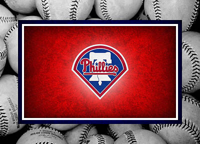 Philadelphia Philles Print by Joe Hamilton