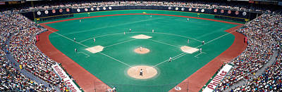 Baseball. Philadelphia Phillies Photograph - Phillies Vs Mets Baseball Game by Panoramic Images