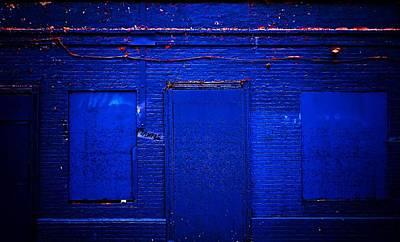 Philly Blues Print by Beth Akerman