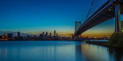 Philly Skyline Photograph - Philly Skyline by David Hahn
