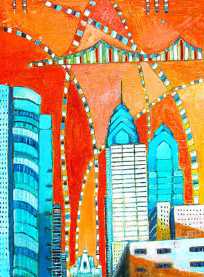 Phillyscape 1 Print by Habib Ayat