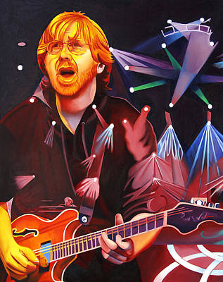 Phish Full Band Anastasio Original by Joshua Morton