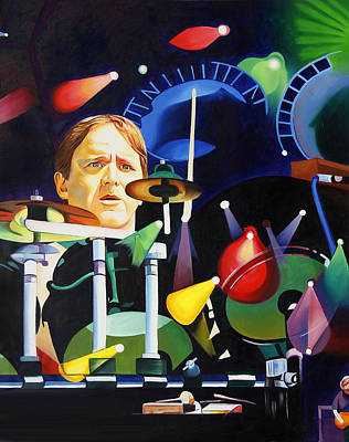 Phish Full Band Fishman Original by Joshua Morton