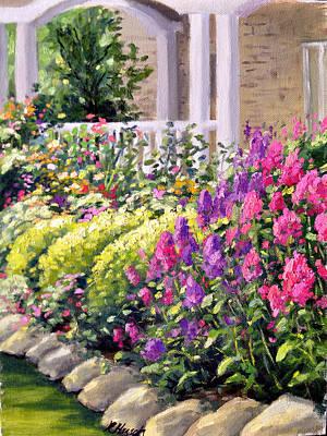 Phlox In Bloom Original by Rick Hansen
