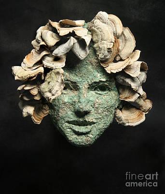 Mushroom Mixed Media - Phoebe by Adam Long