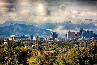 Arizona Photograph - Phoenix Downtown by Fred Larson