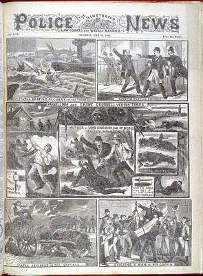 Brotherhood Photograph - Phoenix Park Murders by British Library