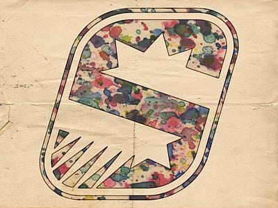 Basketball Painting - Phoenix Suns Vintage Poster by Florian Rodarte