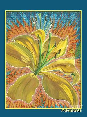 Phoenix Print by Vera Tour