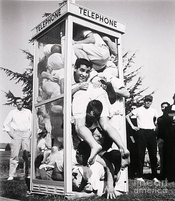 Old Phone Booth Photograph - Phone Booth Stuffing by Joe Munroe